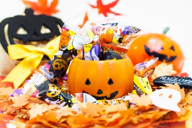 ハロウィンのお菓子のかわいいラッピング方法