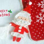 簡単にできてかわいい!手作りクリスマスカード!